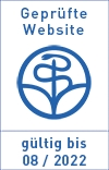 Website zertifiziert von der Stiftung Gesundheit