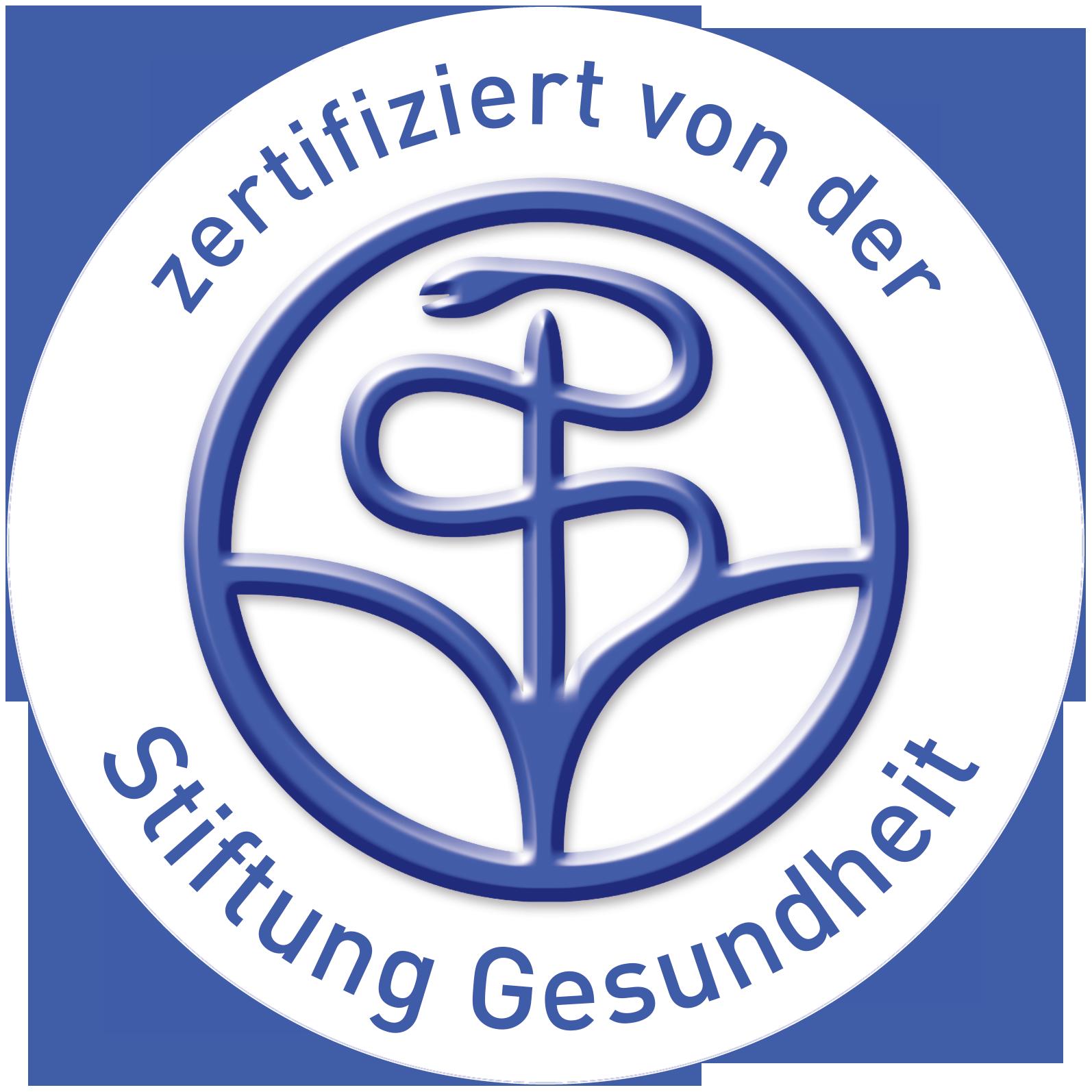 Print-Zertifizierung der Stiftung Gesundheit